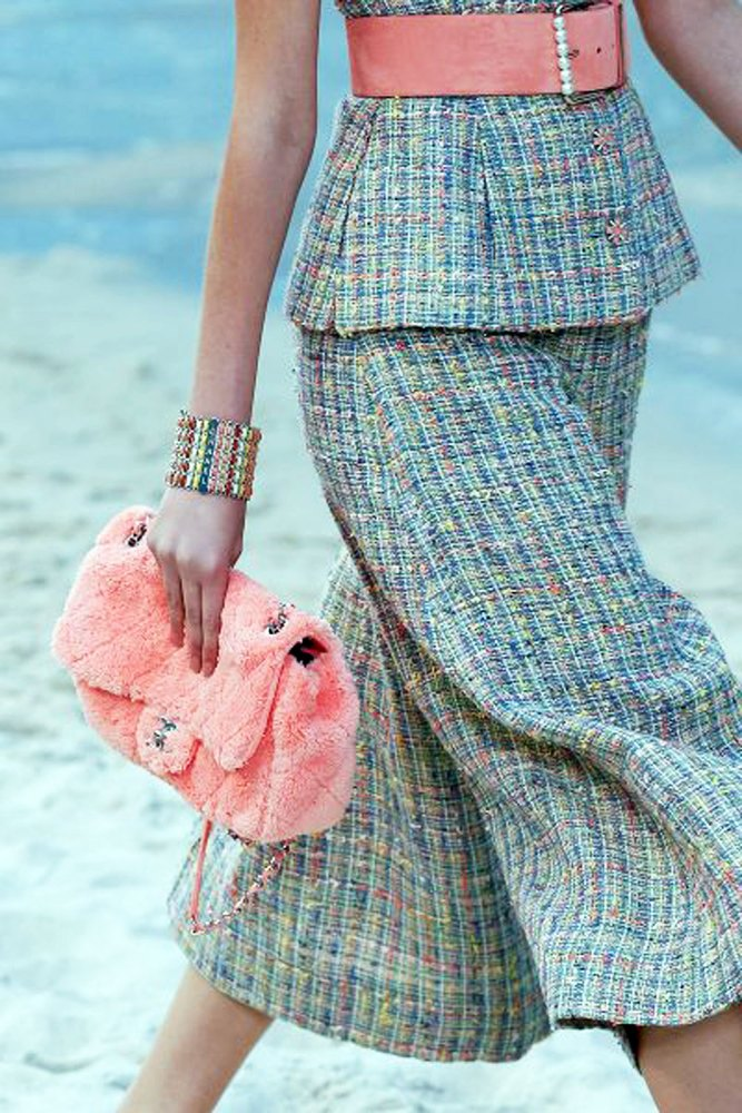 Chanel New  Collection on the Beach